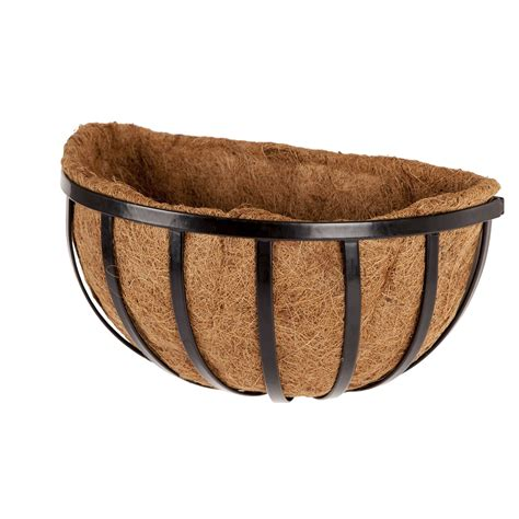 Half Wall Planter by Half Planters Wall Planter Baskets With Liners