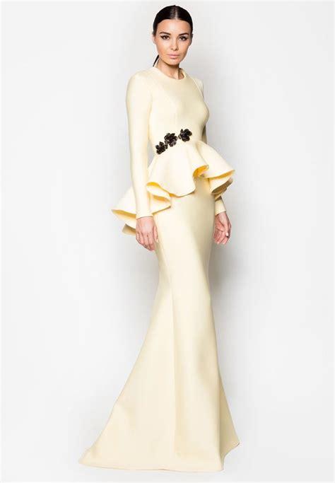 Baju Pesta Zalora 308 best images about baju kurung moden kebaya on fashion peplum and dusty pink