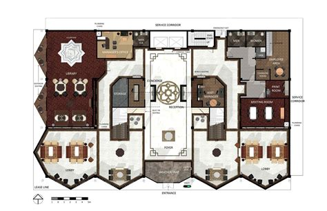 hotel front office layout design boutique hotel floor plans memes