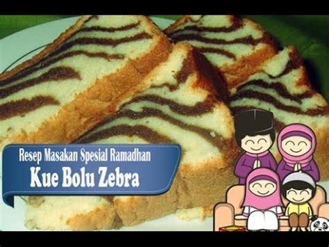 cara membuat kue bolu kukus zebra resep mudah membuat bolu zebra lembut dan enak youtube