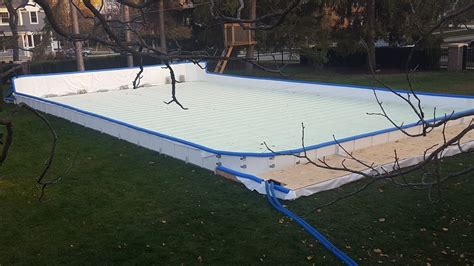 Backyard Rink Refrigeration by Portable Refrigerated Rinks For Small Commercial Or Residential Use