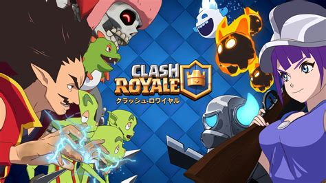 Kaos Anime Coc Clash Of Clans Clash Royal Android clash royale vers 227 o anime no 227 o clash royale dicas