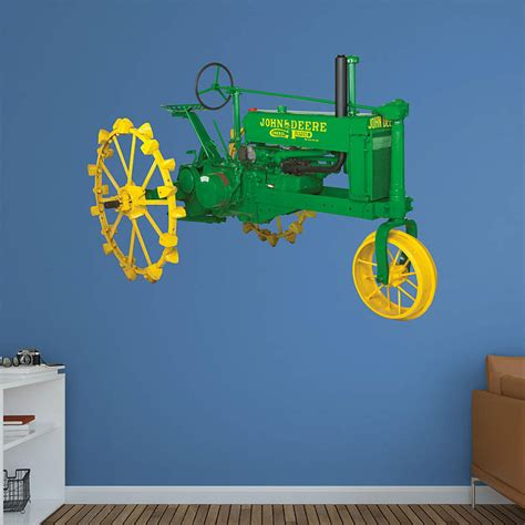 deere stickers for walls deere 6210r tractor wall decal shop fathead 174 for