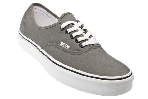 vans authentic pewter black mens womens shoes sneakers