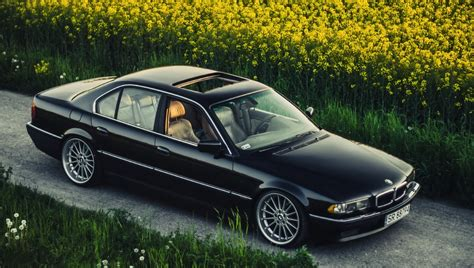 bmw 740 stance skating rinks 740ia e38 boomer bmw stance black