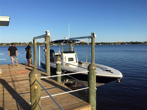 shallow water boat lift boat lift in shallow water page 2 the hull truth