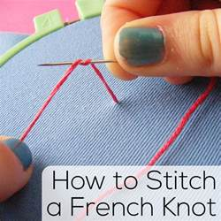 how to stitch a knot shiny happy world