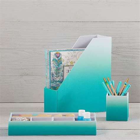 Turquoise Desk Accessories Office Everything Turquoise