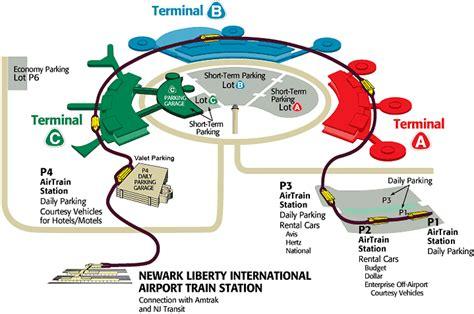 ewr airport map ewr newark airport terminal maps free printable maps