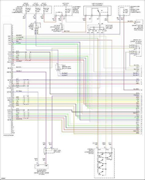 2001 toyota sequoia stereo wiring diagram wiring diagram