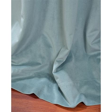 velvet blackout thermal curtains mercer41 melandra solid velvet blackout thermal curtain