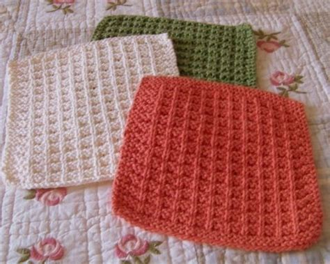 easy knit dishcloths the knit dishcloth pattern collection every knitter needs