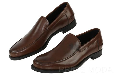 new prada s brown leather loafers casual dress