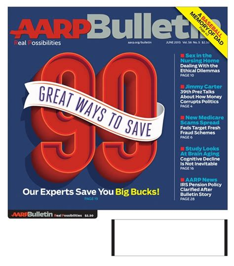 june issue  aarp bulletin jun