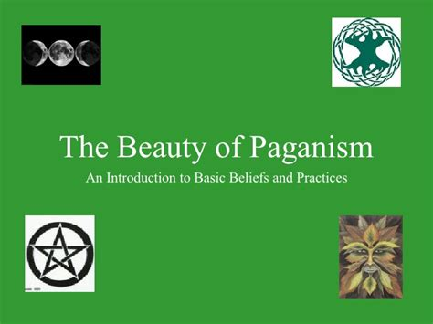 the of paganism