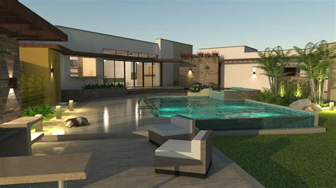 planos de casas dise 209 o cestre en un piso area 257 m2