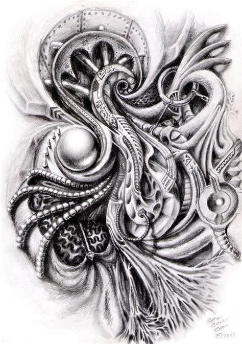 biomechanical shoulder tattoo designs biomechanical shoulder design by zenbenzen on deviantart
