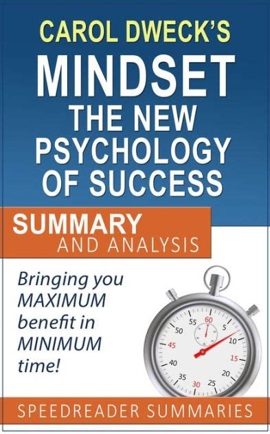 summary mindset the new psychology of success books a and simple summary and analysis of mindset the new