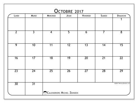 Calendrier Octobre Et Novembre 2017 Calendrier Octobre 2017 51ld