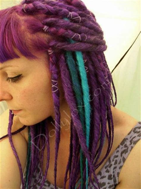 artificial dreadlock hairstyles 120 best images about color dreads on pinterest barrel