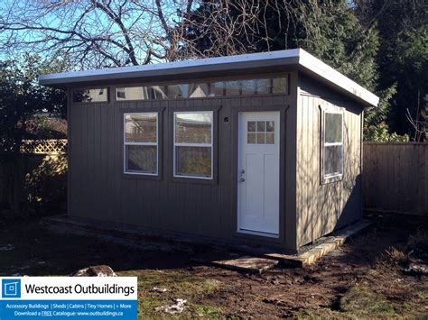 backyard office building contemporary tsawwassen backyard office storage building