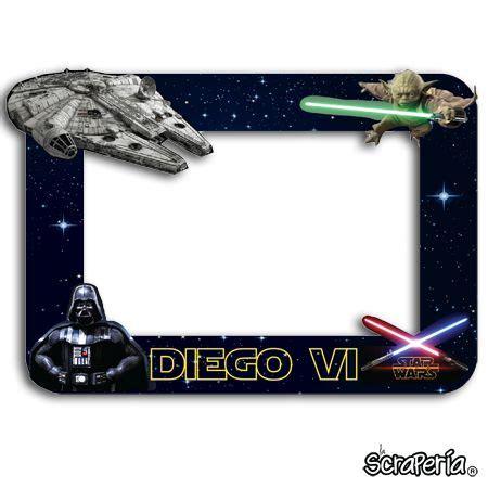 guerra de las galaxias manualidades de papel marco fotos star wars google search proyectos que