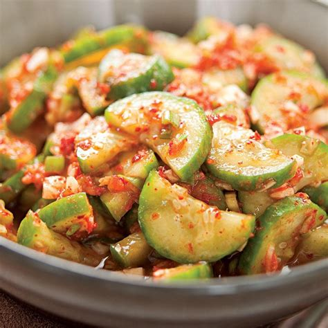 cucumber recipe authentic korean cucumber kimchi recipe