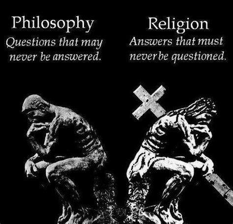 approaching philosophy of religion an introduction to key thinkers concepts methods and debates books the key difference between philosophy and religion atheism