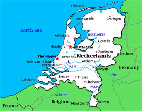 netherlands lakes map gallery news march 98