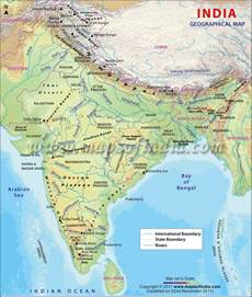 india geography of india