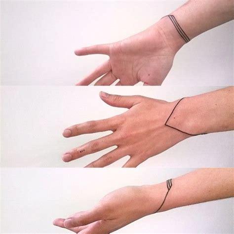 minimalist hipster tattoo minimalist bracelet tattoo ink minimalism handtattoo