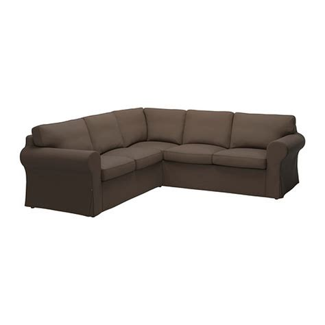 Ektorp Sofa Sectional Ikea Ektorp 2 2 Corner Sofa Cover Slipcover Jonsboda Brown 4 Seat Sectional Cover