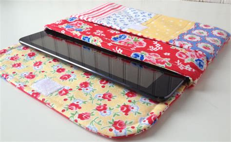 sewing pattern ipad case make a patchwork case for your ipad or tablet quilting