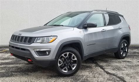 jeep compass trailhawk 2017 white test drive 2017 jeep compass trailhawk the daily drive