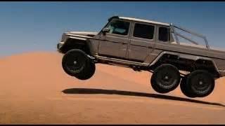 6 Wheel Mercedes Top Gear Mercedes 6 Wheel Drive Swimming Pool To Sand