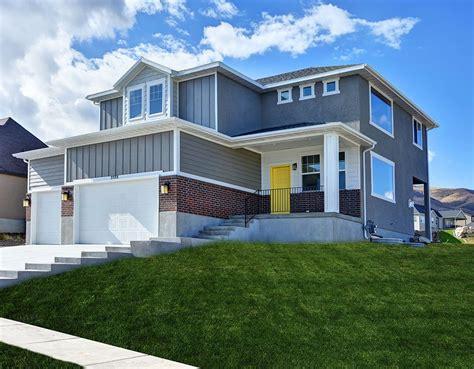custom home plans utah 1 front2 min 1 lightyear homes utah custom home builder