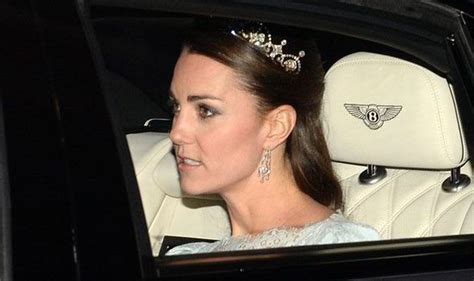 duchess kate the duchess of cambridge graces the cover of kate middleton wears royal tiara to white tie ball at