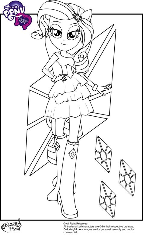 printable   pony equestria girls coloring pages