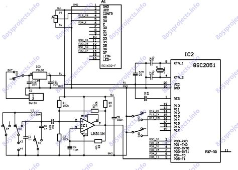 inductance meter using pic microcontroller 8051 at89c2051 based lc meter free microcontroller projects 8051 avr pic