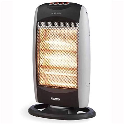 prolectrix ehspron halogen heater   grey