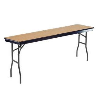 24 x 96 folding table midwest folding products f series seminar folding table