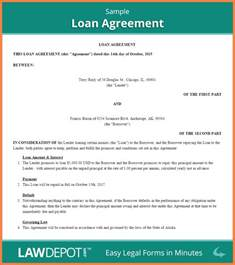 8 personal loan agreement between friends purchase