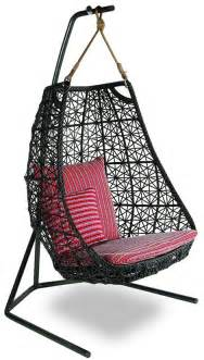 hanging swing chair patio rattan swing chair by