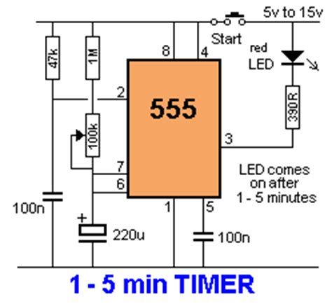 555 timer integrated circuit meaning 50 555 circuits