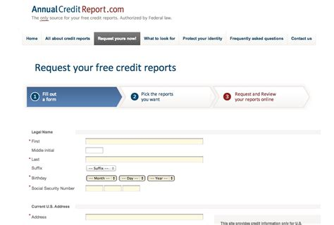 3 bureau report credit report my fab finance
