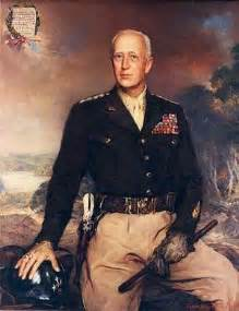 Americans cheered gen patton when he urinated on the enemy
