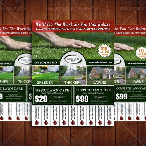 cards stunning lawn care business unique mowing design elegant