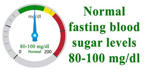fasting glucose fasting blood sugar chart chart for normal fasting blood