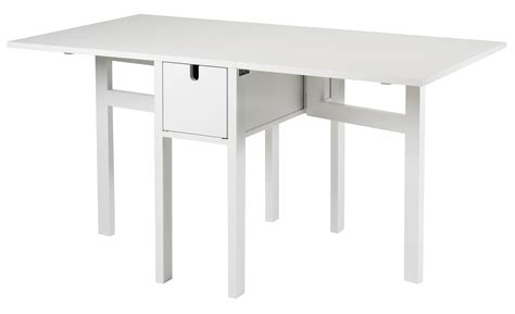White Drop Leaf Table Giving Your Home That Uncluttered Look East Side Develop