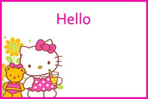 printable hello kitty tags free printable hello kitty theme name tags cute free name